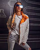 Женская Двусторонняя Куртка Батал