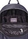 Рюкзак темно-синий кожаный POOLPARTY Xs женский, фото 4