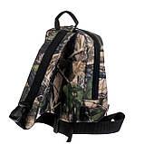 Рюкзак ROVITA OXFORD 2 кармана маленький 1 лямка лес, фото 2
