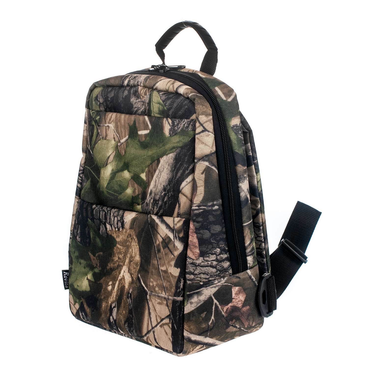 Рюкзак ROVITA OXFORD 2 кармана маленький 1 лямка лес