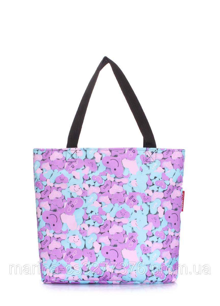 Женская повседневная сумка Select летняя цветная с узором