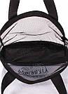 Сетчатая сумка для покупок POOLPARTY с логотипом прозрачная черная женская, фото 3