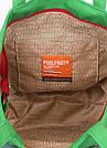 Коттоновая сумка POOLPARTY Arizona зеленая женская, фото 4