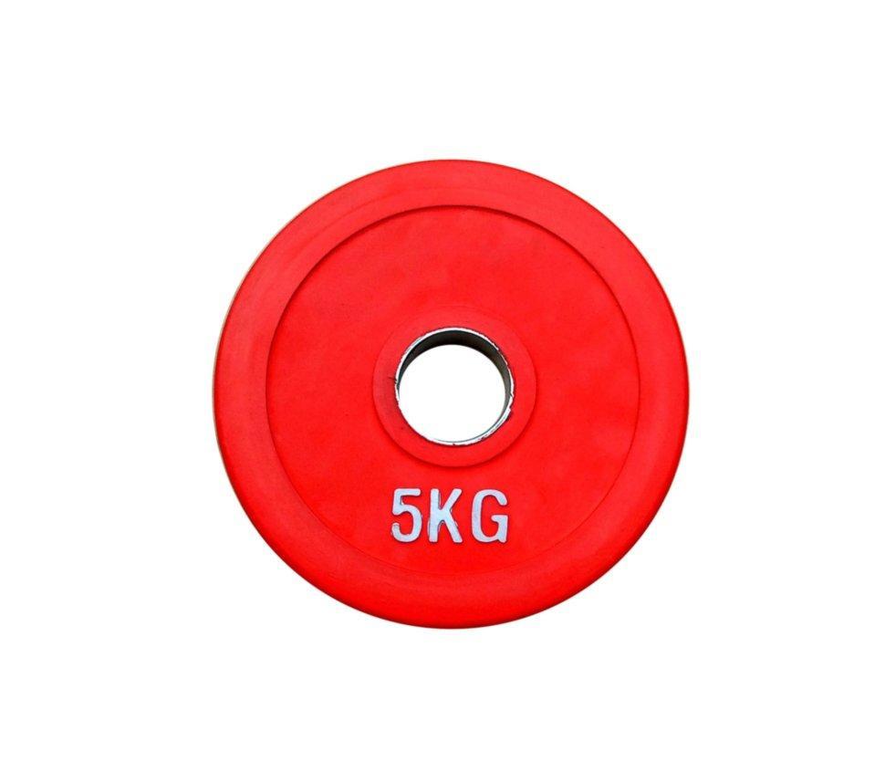 Диск олімпійський прогумований RN-sport alex 5 кг