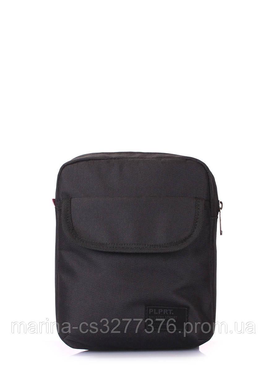 Мужская сумка на плечо POOLPARTY черная