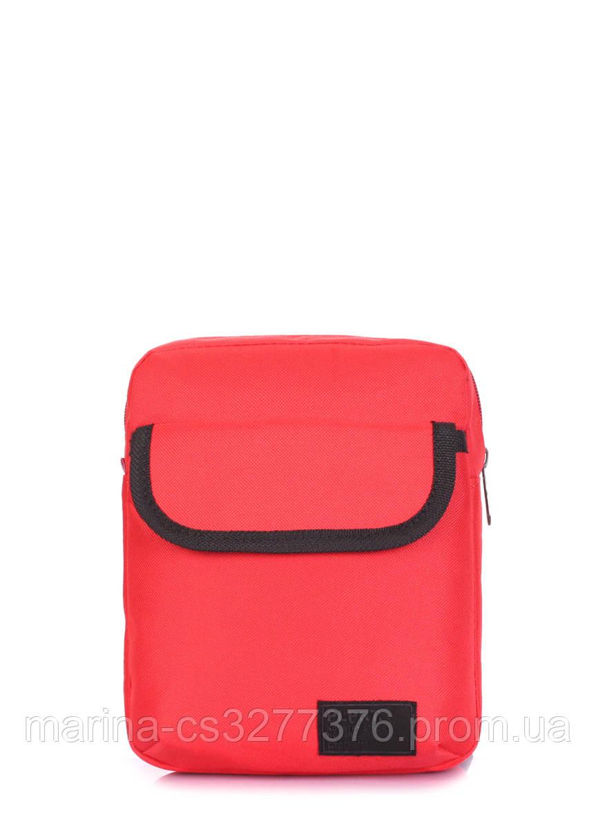 Мужская сумка на плечо POOLPARTY красная