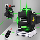 4D Лазерный уровень PRACMANU 16 линий для стяжки пола ➜ ПУЛЬТ ➜ Зеленые лучи ➜ ГАРАНТИЯ: 1 год, фото 8