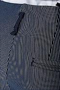 Брюки женские 115R48 цвет Темно-синий полоска, фото 7