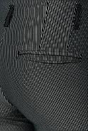 Брюки женские 115R48-4 цвет Черно-белый/полоска, фото 5
