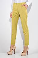 Брюки женские 115R48-26 цвет Горчичный, фото 4