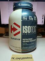 Протеин Dymatize ISO 100 1,4 кг диматайз изолят изо 100
