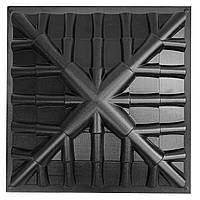 "АБС форма для крышки (колпака) на столбы и заборы ""Черепица"" 450*450*130 мм, фото 1"
