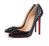 Черные туфли с шипами, Christian Louboutin, 33 р.