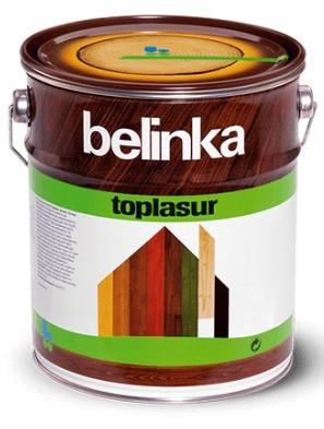Покращена лазурь для дерева Belinka TOPLasur (10 л)