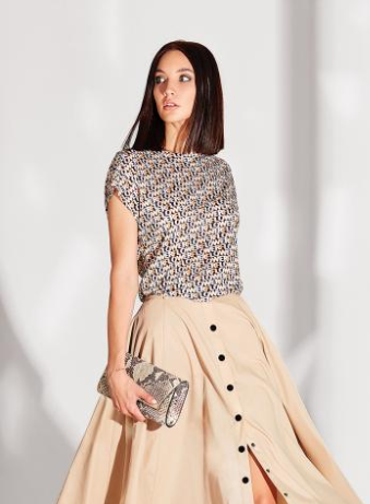 Трикотажная женская блуза Noche Mio, BODRUM 6.146