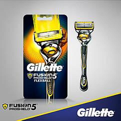 Станок Gillette Fusion ProShield 1 картридж Flexball 01249