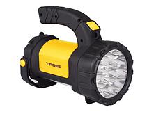 Фонарь ручной многофункциональный Tiross TS-1871 15 LED + 2W COB LED yellow