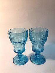 Набор 6 бокалов из голубого стекла Bailey Bonnie 250 мл