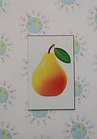 Груша. Пластиковые карточки для наборного полотна