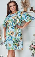 Красивое платье на каждый летний день,большой размер