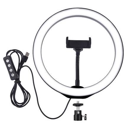 Кольцевая лампа для блогеров (26 см. диаметр кольца), фото 2