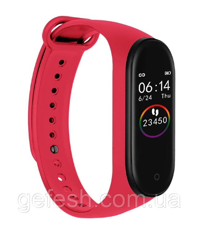 M4 смарт браслет спортивні смарт годинник пульсометр кров'яний тиск (6575820055)