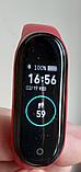 M4 смарт браслет спортивні смарт годинник пульсометр кров'яний тиск (6575820055), фото 3