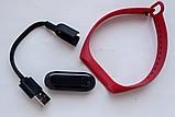 M4 смарт браслет спортивні смарт годинник пульсометр кров'яний тиск (6575820055), фото 4