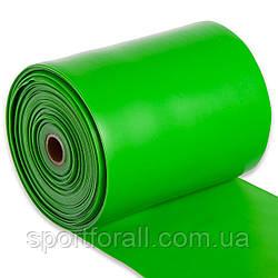 Лента эластичная для фитнеса и йоги в рулоне CUBE (р-р 5м x 15см x 0,45мм) FI-6256-5