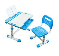 Комплект Cubby парта и стул-трансформеры Vanda Blue