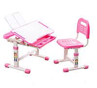 Комплект Cubby парта и стул-трансформеры Vanda Pink
