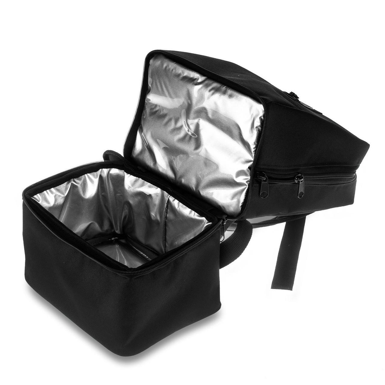 Рюкзак ROVITA OXFORD 2 кармана с термоотделением черный