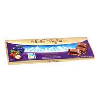 Maitre Truffout Milchschokolade Traube Nuss, 300 г