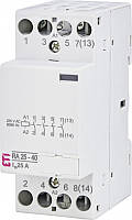 Контактор модульный RA 25-40 230V AC ETI, 2464094, магнитный пускатель