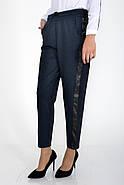 Брюки женские 115R225 цвет Темно-синий-черный, фото 4