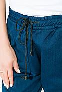 Брюки женские 115R225 цвет Джинс-черный, фото 2
