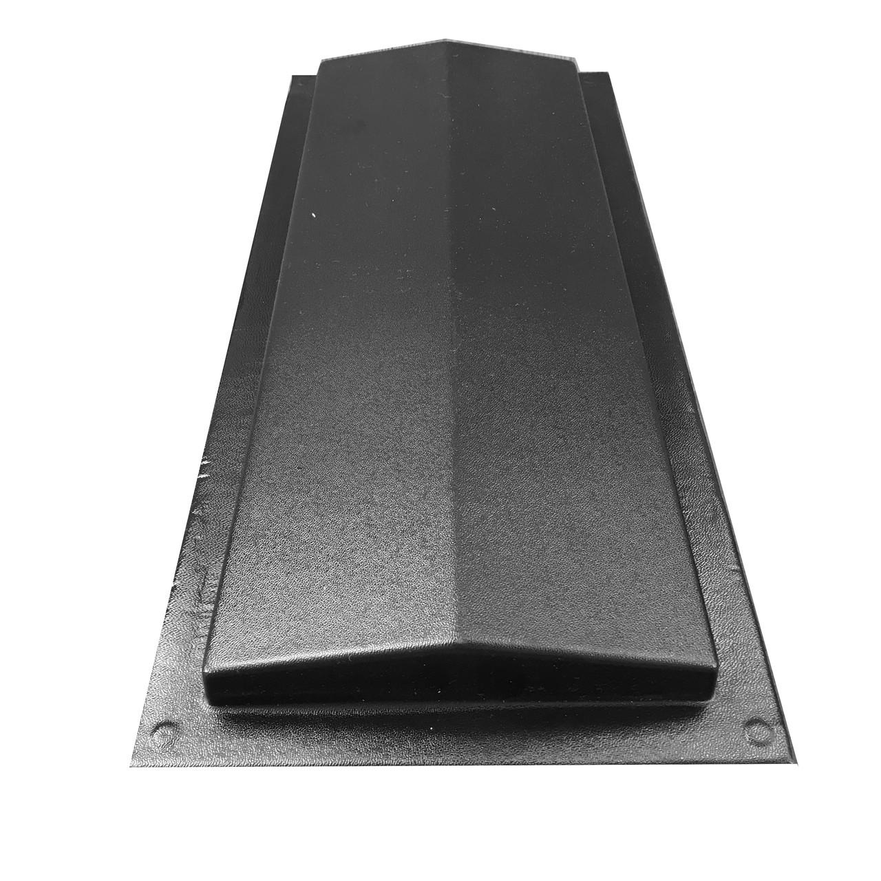 """Форма для парапета на забор """"Гладкий"""" 180*500*35 мм; для литья бетонных коньков на забор"""