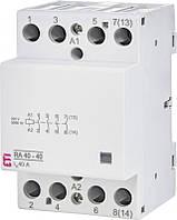 Контактор модульный RA 40-40 230V AC ETI, 2464095, магнитный пускатель