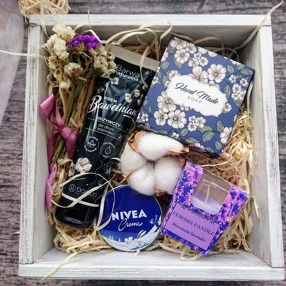Подарок в деревянном боксе для мамы,сестры,подруги, сотрудницы