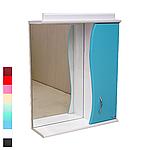 Зеркало АкваСан с подсветкой 65 см Голубое, фото 3