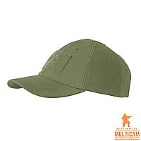 Бейсболка зимняя Helikon-Tex®  BBC WINTER Cap - Shark Skin - Olive Green