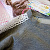 Кофточка реглан с кружевом для девочки  Five Stars KD0298-110p, фото 4