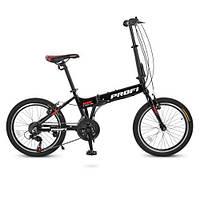 Спортивный велосипед 20 Д. G20RIDE A20.1 черный Profi, фото 1