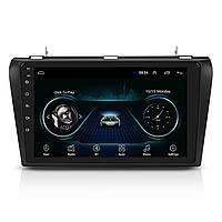 "Штатная автомагнитола 9"" Mazda 3 (2003-2009 г.) radio FM Wi-Fi 1/16GB Bluetooth GPS Android 8.1"