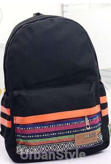 Рюкзак молодежный, школьный Этно.
