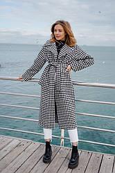 Женское модное демисезонное пальто