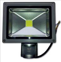 Прожектор светодиодный с датчиком движения Lemanso LMPS-10 W