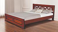 Кровать Женева 1600х2000 без ножек орех (RoomerIN)