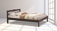 Кровать Бритни 1600х2000 орех (RoomerIN)