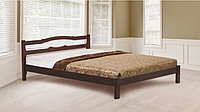 Кровать Грета 1600х2000 орех темный (RoomerIN)